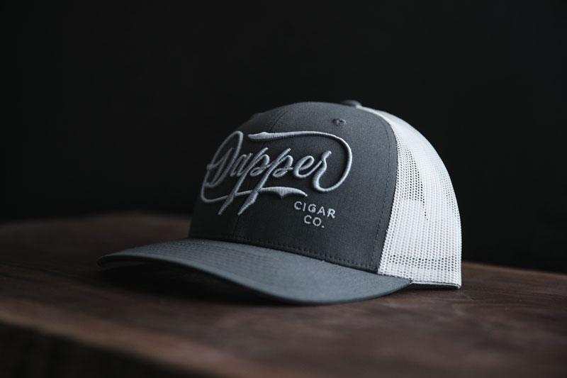 D.C.C. Gray Gray Trucker Hat